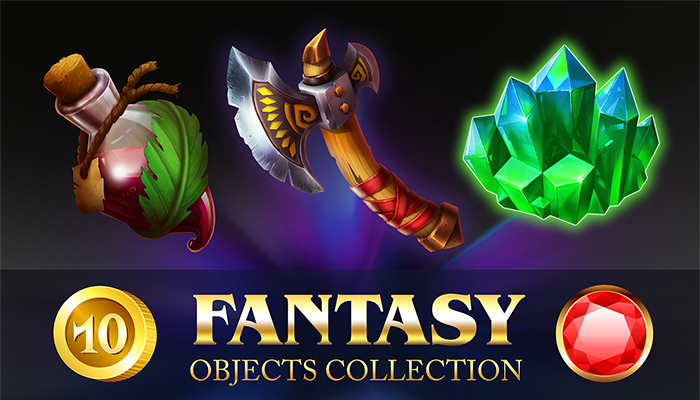 Fantasy objects collection