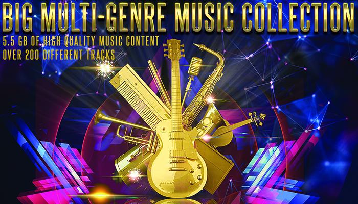 Big Multi-Genre Music Collection