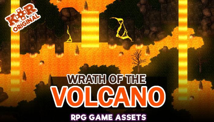Wrath of the Volcano Tileset for RPGs