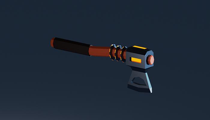 Stylized axe