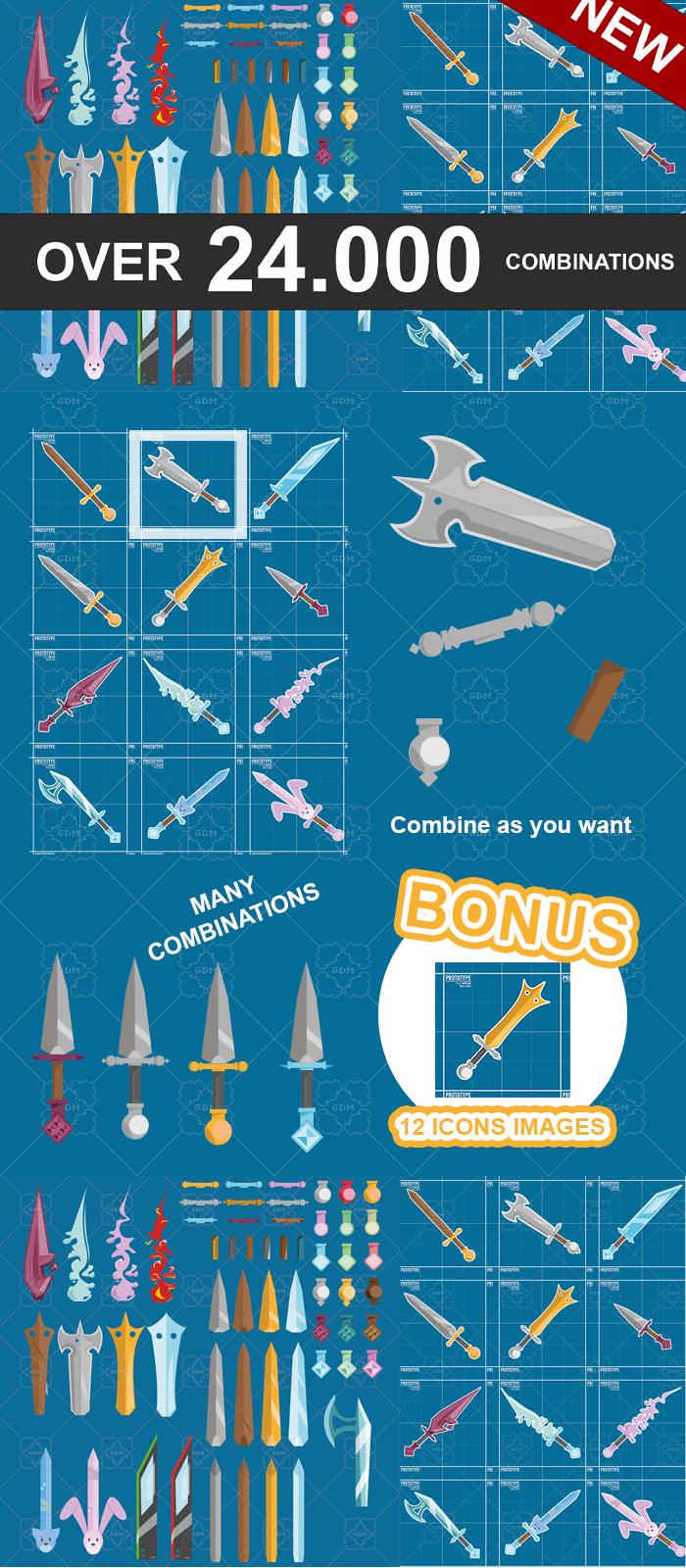Weapons Custom Pack 1