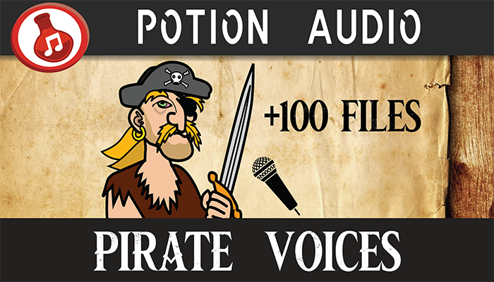 Pirate Voice Pack