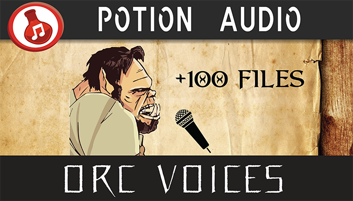 Orc Voice Pack