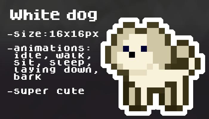 White dog [16x16px]