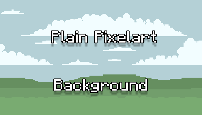 Pixelart Background Layered