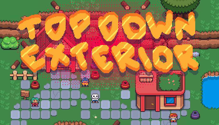 Top Down Exterior – RPG TILESET [16×16]