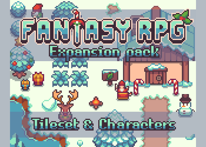 Fantasy RPG snow pack