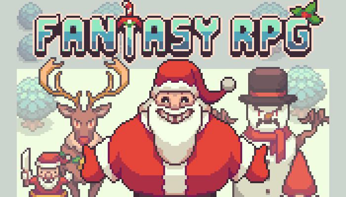 Fantasy RPG christmas battlers