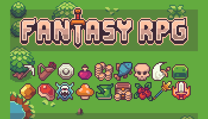 Fantasy RPG icon pack