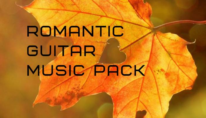 Romantic Guitar Music Pack