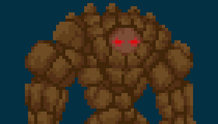 Pixel Stonegolem