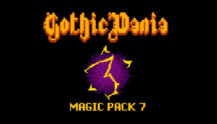 GothicVania Magic Pack 7