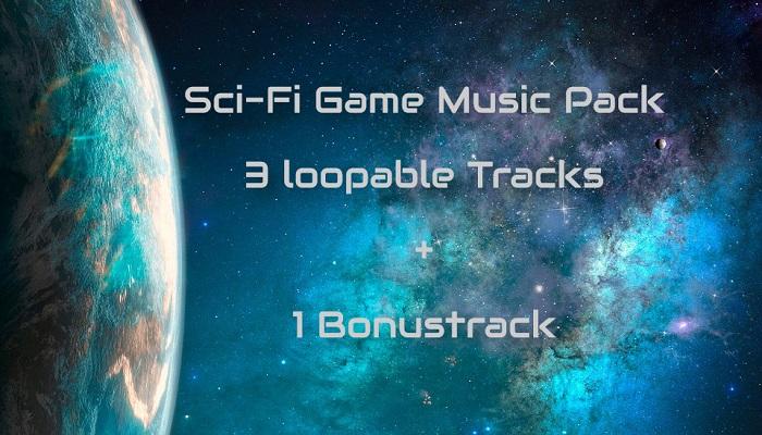 Sci-Fi Game Music Pack (3 loopable Tracks + 1 loopable Bonustrack)