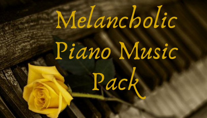 Melancholic Piano Music Pack