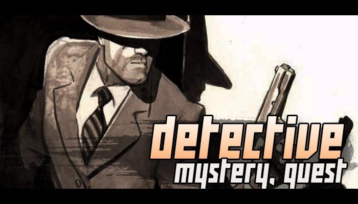 Detective Game Music – Crime