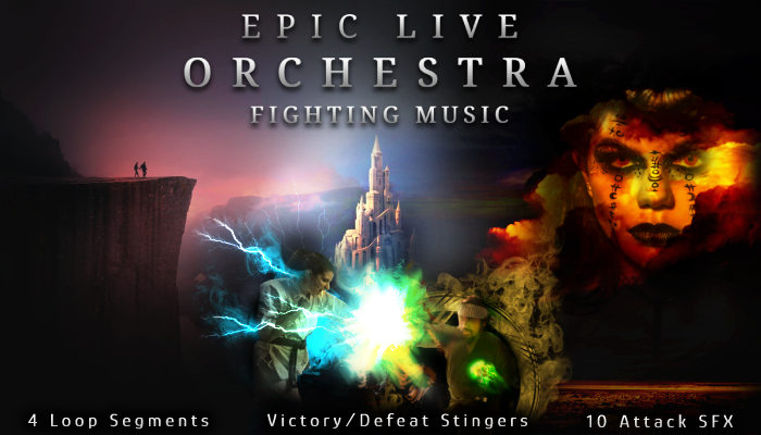 EPIC LIVE ORCHESTRA: FIGHTING MUSIC
