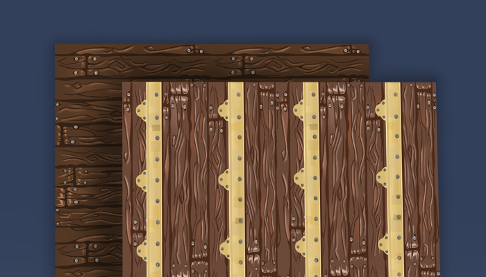 Wood With and Without Gold Trimmings(extended)
