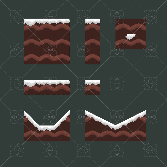 Tilesets Ice 32×32