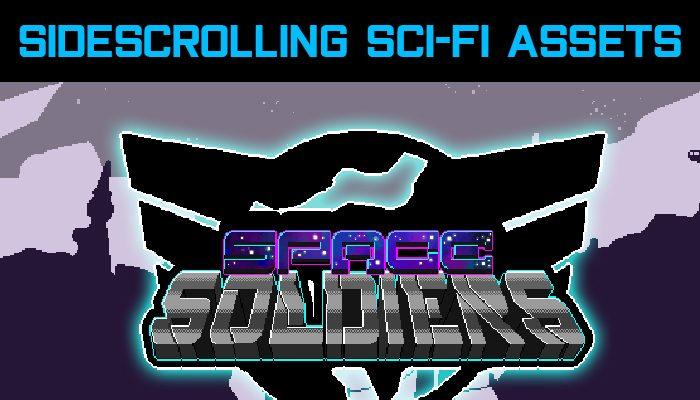 Sidescrolling Scfi-Fi Assets