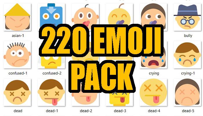 220 Emoji Pack