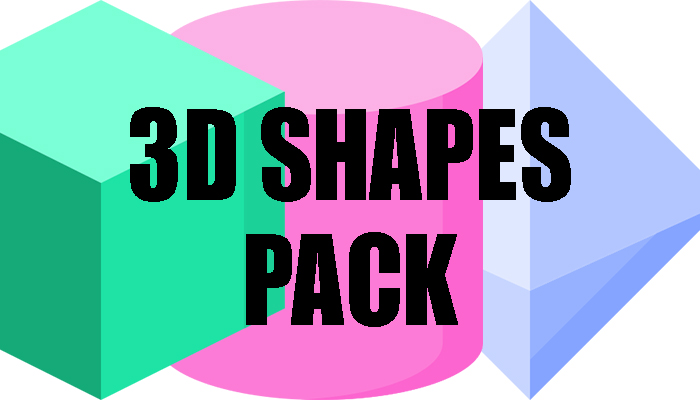 3D Shapes Pack