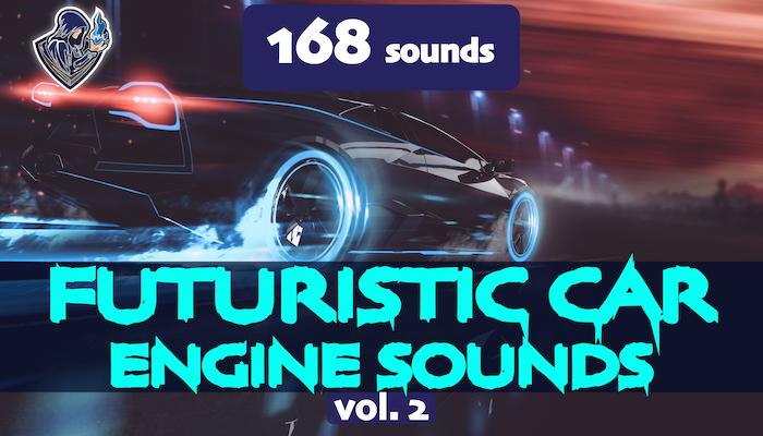 Futuristic Car Engine Sounds Vol. 2