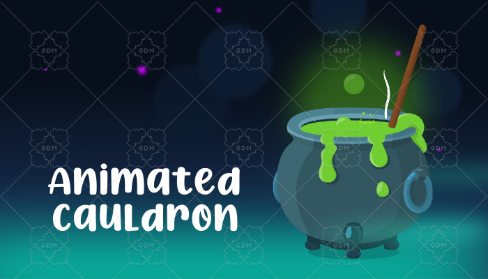 Animated cauldron
