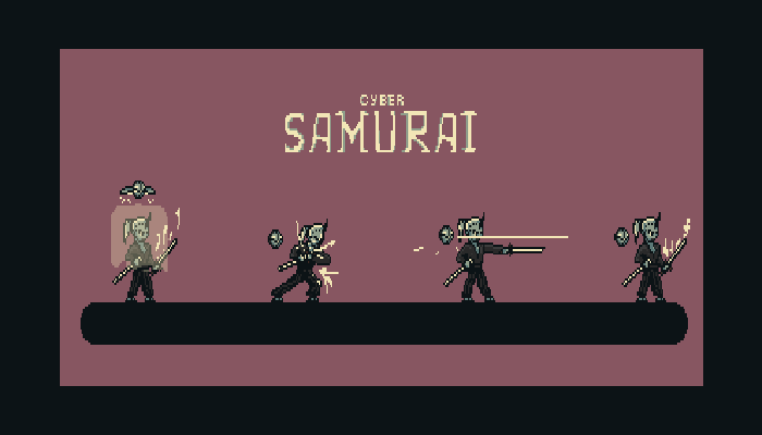 Pixel Cyber Samurai