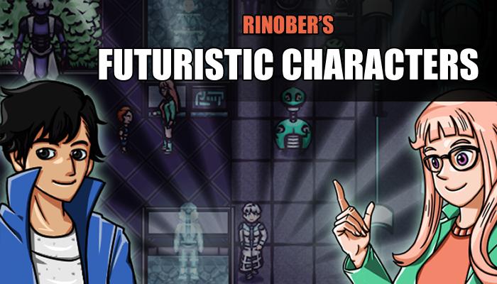 Futuristic Characters