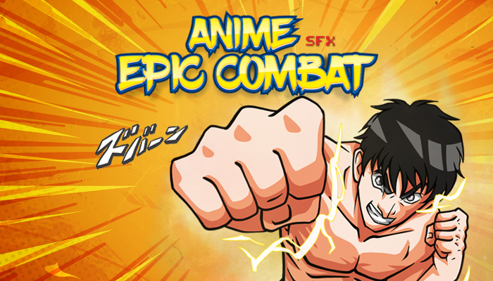 Anime Epic Combat Sound Effects Pack